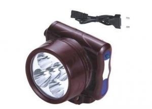 YJ-1829-5 LED Rechargeable Head Lamp 400mAH
