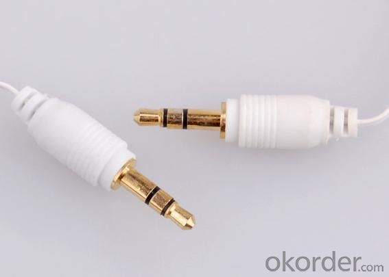 Retractable 3.5mm Auxiliary Stereo Cable