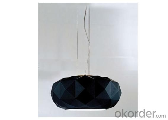Blown Black Decoration Modern Light Glass Shade For Indoor