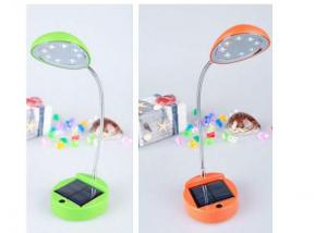 Solar Power Desk Lamp With Hydrogen Storage Battery