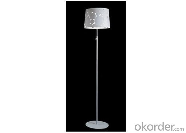 Modern White Steel Decorative Residential Lantern Floor Lamps