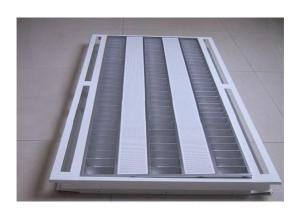 T5 Grille Lamp 3x28 Watt Recessed Type