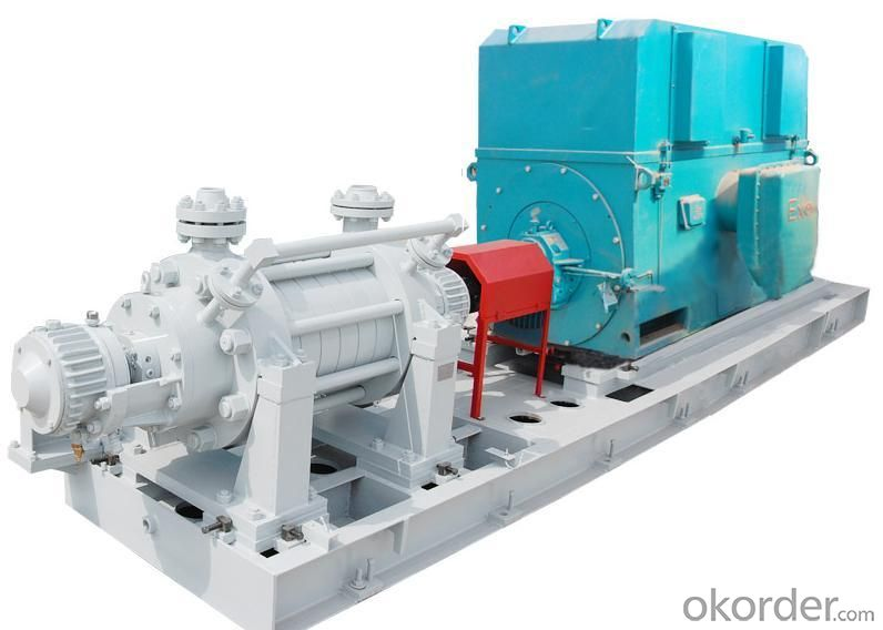 Multistage Centrifugal Oil Pump