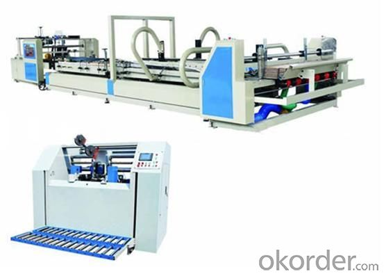 Semi -Auto Gluer Carton Machine Packing Machine