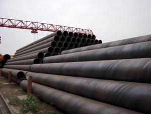 SSAW Welded Steel Pipes API SPEC 5L API SPEC 5CT ASTM A53 GB/T9700.1 Black Line Pipe