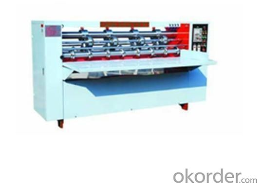 BFY Series Of Thin Knife Cutting Indentation Machine/Carton Machine