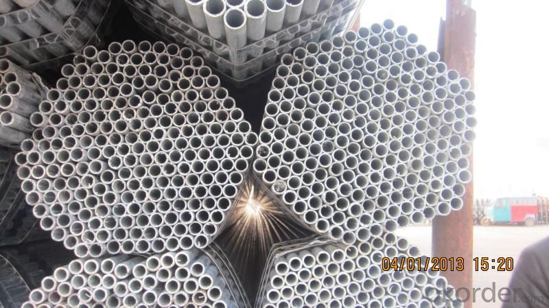 Hot Dipped Galvanized Steel Pipe Welded ERW ASTM A53 BS 1387 GB3091