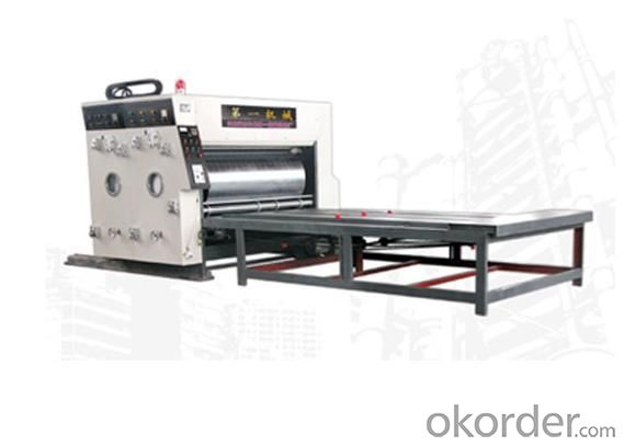 YFQ Corrugated Paperboard Double Color Printing Machine
