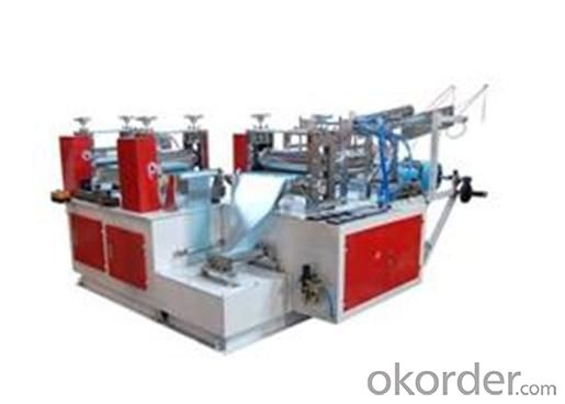 Automatic PE Shoe Cover Machine
