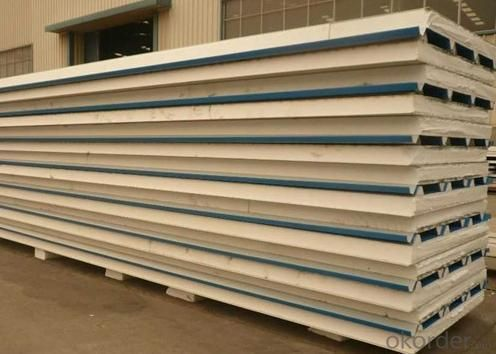 EPS and Rockwool Sandwich Panel Line