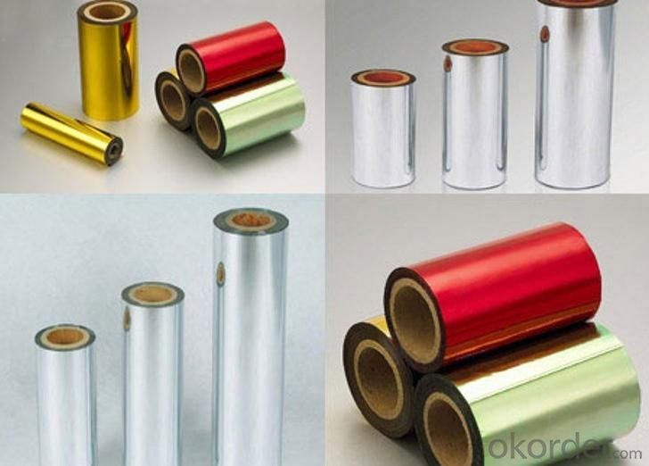 Colorful Metalized PVC Film With Good Quality For Decoration