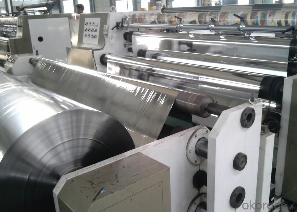 Silver Coated Metalized PET Film With Good Quality