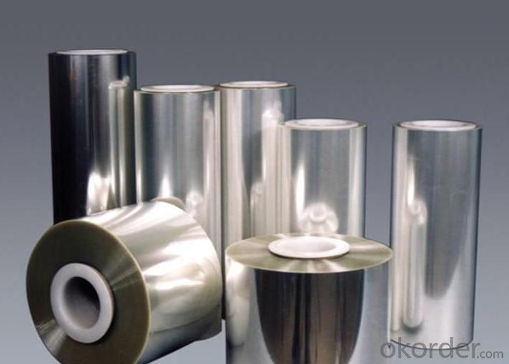 Highly Glossy Metalized  PVC Film For Packaging And Wrapping