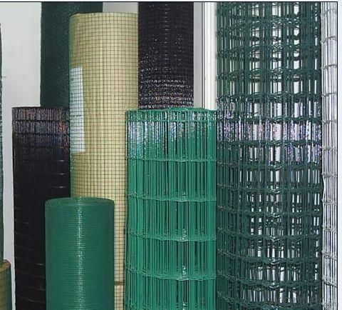 Welded Wire Mesh Panel with PVC Coating