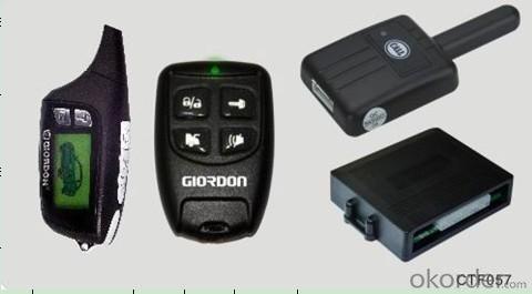 Remote Arming/Disarming Car Alarm 1888 with Automatic Door Lock/Unlock