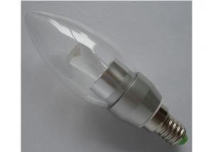E14 E12 Clear Glass Samsung Cob Led Bulb/Candle Lamp