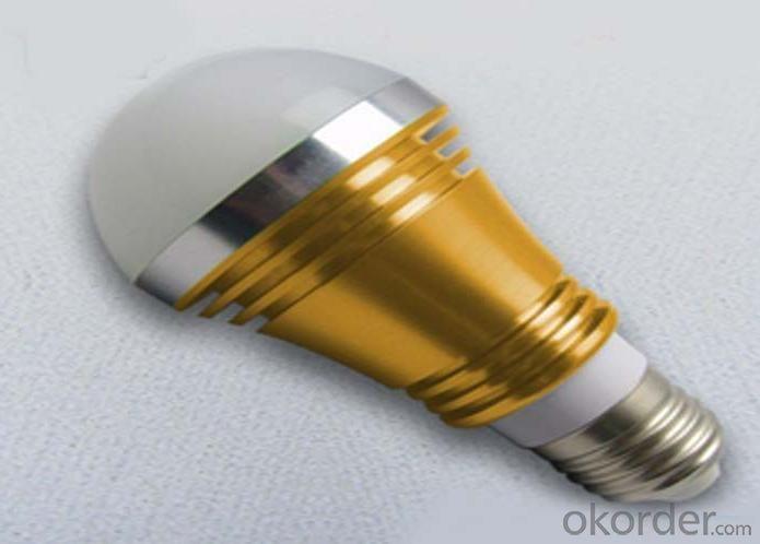 Colorful LEDd Globe Bulb