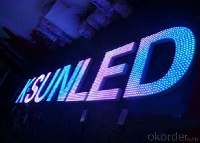LED Channel Letters Made By LED Pixel Lamps