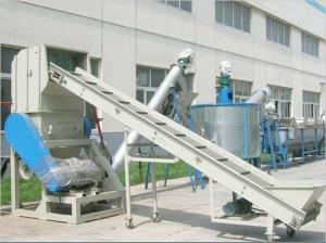 Double Stage Pellet Production Line Machine