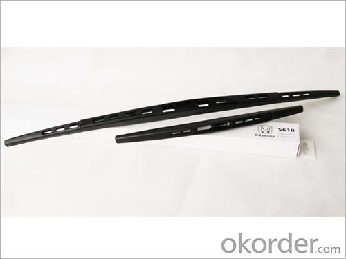 Universal Windshield Wiper Blade-Stainless Steel Frame with Natural Rubber/Silicon Rubber -2056