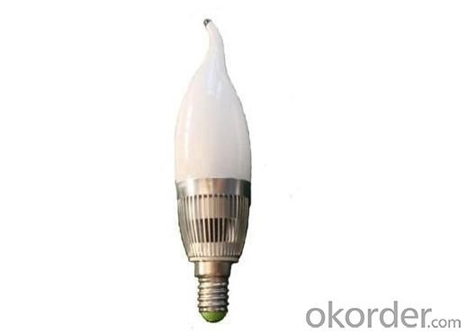 E14 Milky-cover LED Candle Lamp 3 Watt