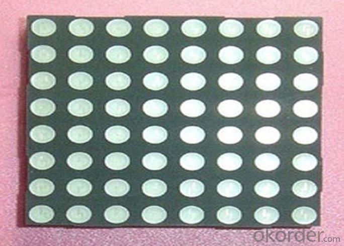 Professional Outdoor RGB LED 5x7 Dot Matrix Display