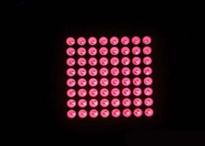 High Brightness Outdoor Red Color LED 8x8 High Brightness