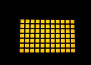 High Efficiency LED Dot Matix Display Technology