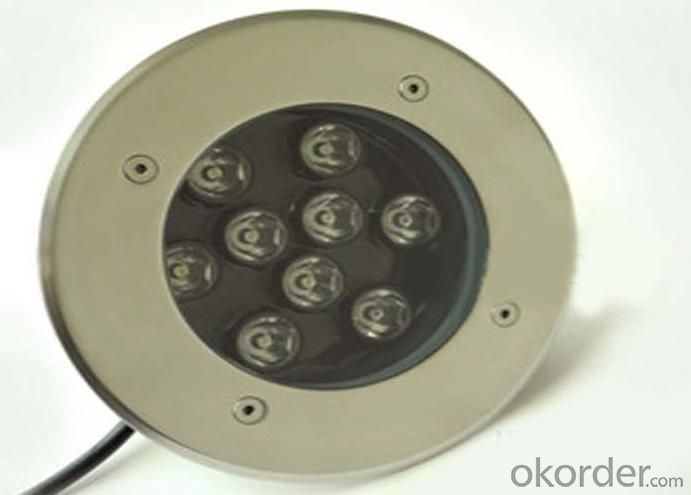 RGB DMX Inc LED Underfloor Recessed Light