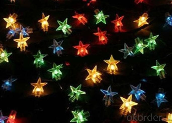 Holiday Lighting Decoration LED Twinkle Star String Light