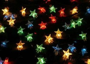 Holiday Lighting Decoration LED Twinkle Star String Light