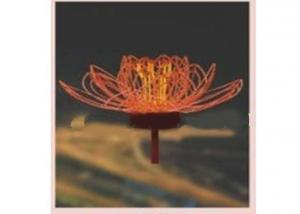New Decoration Lotus Flower Light for Firework Series