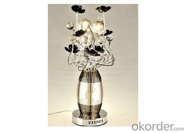 Aluminum Floor Flower Lamp