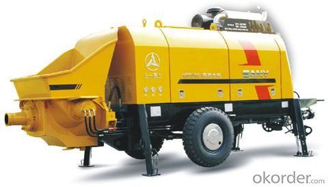 Trailer Concrete Pump HBT80C-1813D