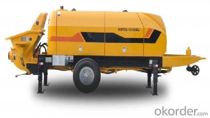 Trailer Concrete Pump HBT60.16.174RUS