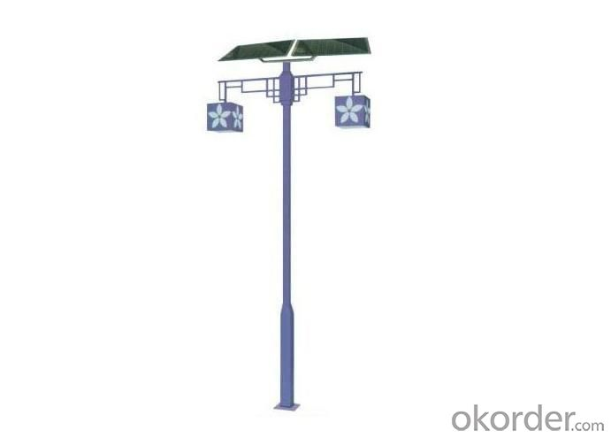 Graceful Design Solar Garden Lamp for Courtyard&ParkTL-2102