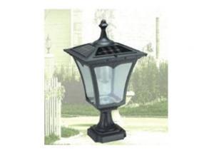 LED Solar Pillar Light 1.6 Watt