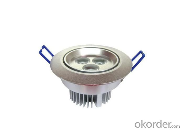 High Brightness 3x1 Watt LED Ceiling Light