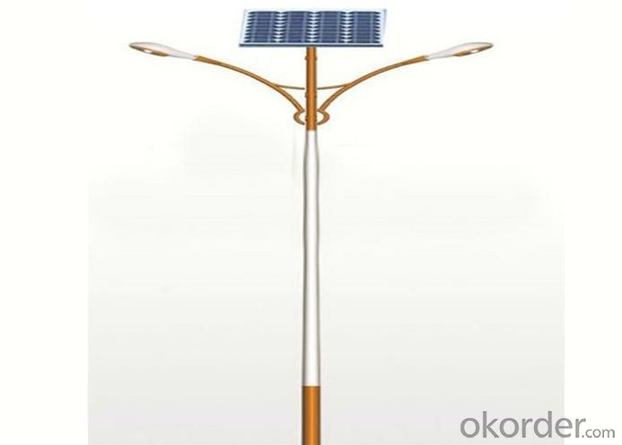 Intelligent Controlled Street Light Solar