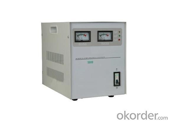 Horizontal Single Phase SVC AC Voltage Regulator 5KVA