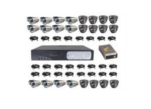 DVR IR CCTV Security Camera System 24CH
