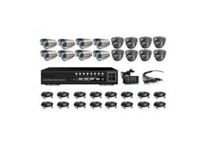 CCTV Home Security System/DVR Kit/CCTV Camera System 16CH