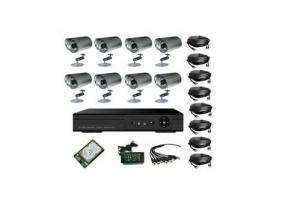 Outdoor CCD Camera 8CH CCTV DVR System