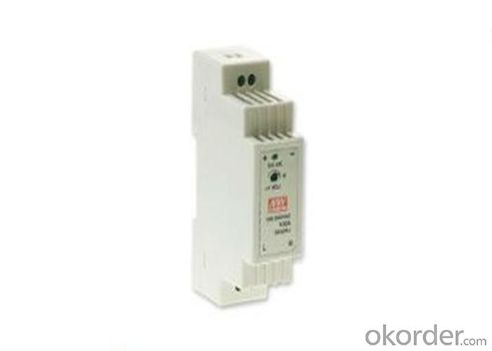 Single Output Industrial DIN Rail Power Supply 15W 5V