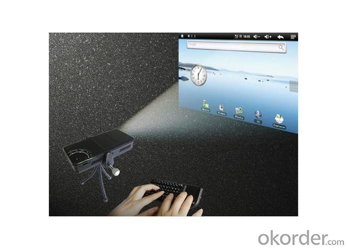 Handheld Mini Projector HK820 And Mini Beam Projector