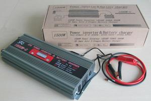 Inverter 1500 Watt/ Built-in Battery Charger 12V