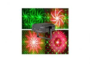 SM-201 Red Green 2 Lens Mini Laser Lighting Gift Light