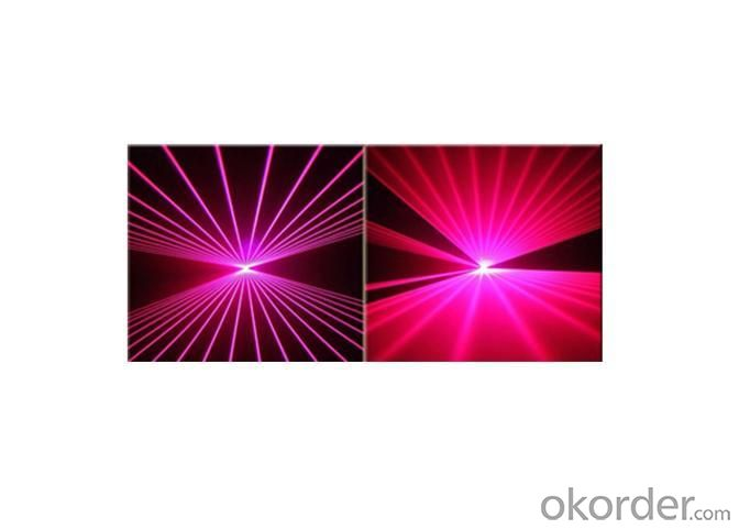 Hot Sale Single Purple 5000mw Flash Laser Light