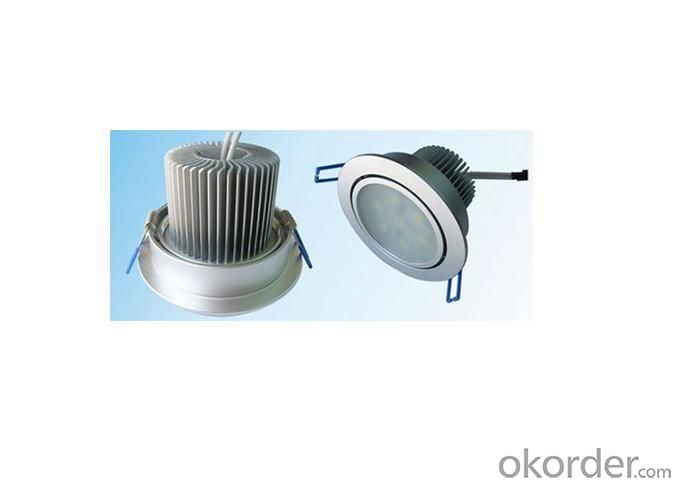 7W Glass Ceiling Light Covers LED Downlight