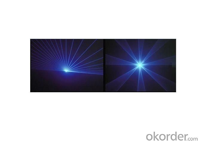 Laser Light /Single Blue 5000mw Flash Laser Light